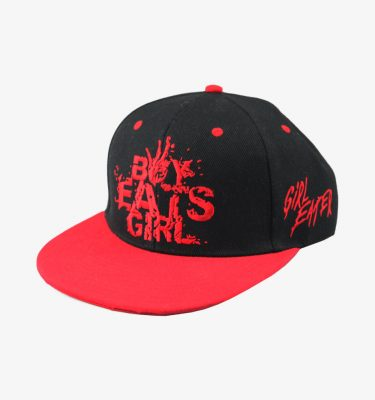 boy eats girl snapback